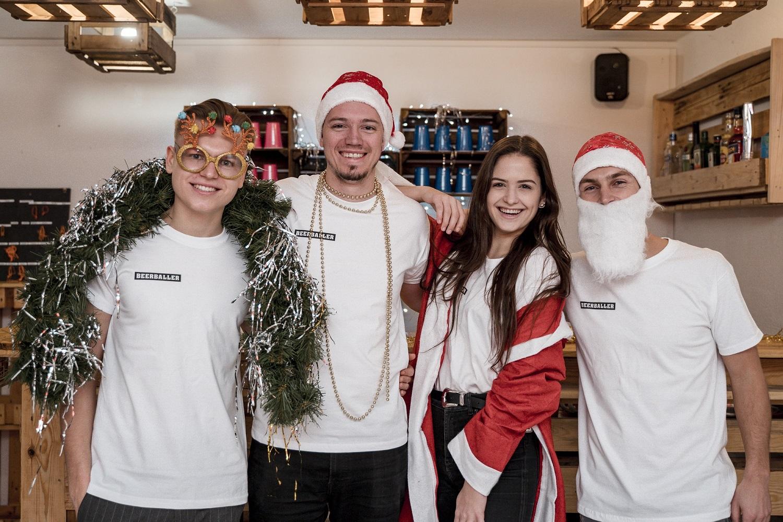 Team Weihnachtsbild