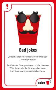 Bad Jokes Bechern BeerBaller