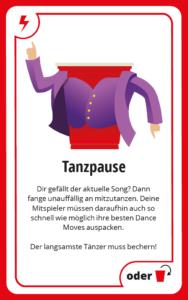 Tanzpause Bechern BeerBaller
